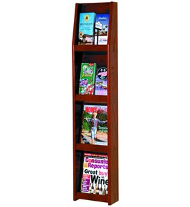 Literature Display Rack - 8 Pocket Image